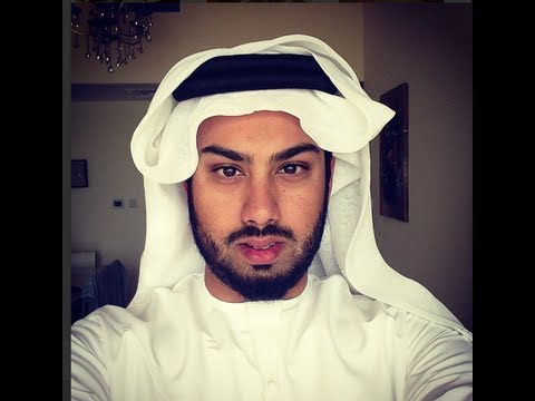 Arabic Men's Head Fashion