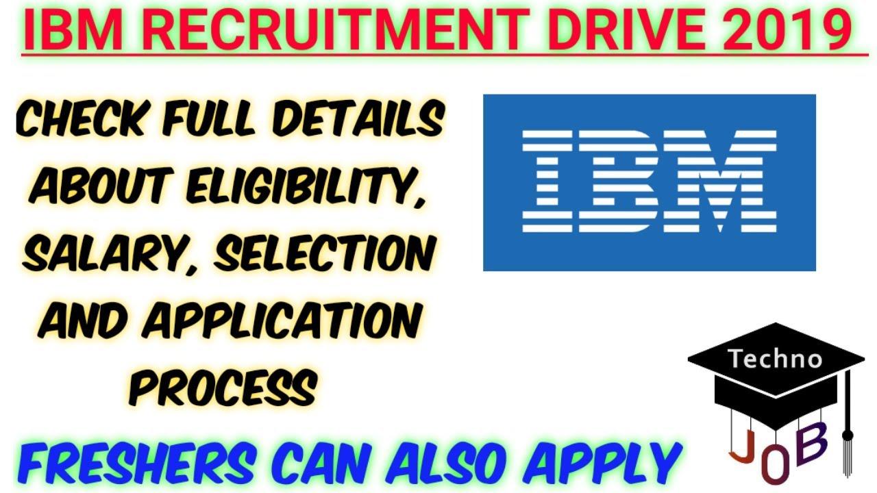 IBM Recruitment 2019 for Associate – Technical Engineer | B E/B Tech/MCA |  PAN India