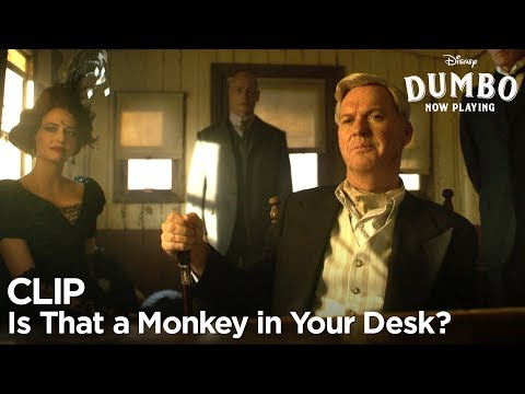 """Is That a Monkey in Your Desk?"" Clip 