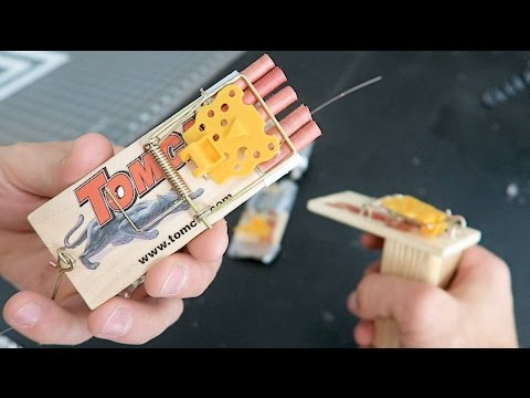 Thumbnail: PRANK TRAPS with KING OF RANDOM - HOW TO PRANKS using mousetraps