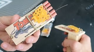 PRANK TRAPS with KING OF RANDOM - HOW TO PRANKS using mousetraps