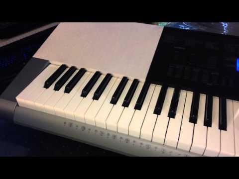 Casio Inc  WK245 76-Key Touch Sensitive Keyboard with Power Supply