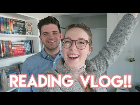 Reading Vlog: WE BOTH FINISHED BOOKS! (I Read 600 Pages!)