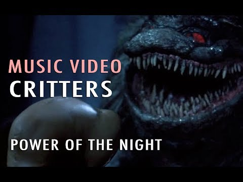 Music Video Power Of The Night (critters) Youtube