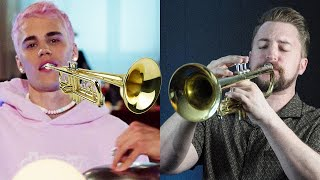 Yummy by Justin Bieber, but you went to jazz school