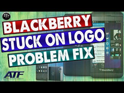Blackberry Stuck On Logo Problem Fix For All Blackberry