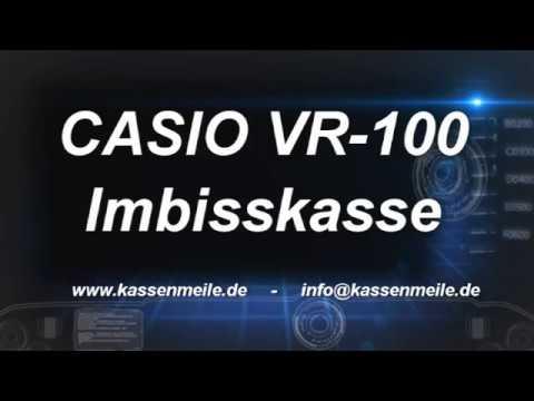 CASIO VR100 IMBISSKASSE