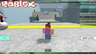 Playing Roblox Speedrun 4 / Awesome New Christmas Levels!! (KID GAMING)