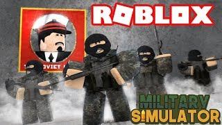 ROBLOX: The Soviet Union Military (While Wearing a B.A Uniform)