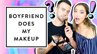 Boyfriend Does My Makeup + Q&A | clothesencounters