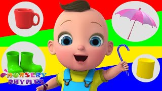 Learn Colors | Color Song | Nursery Rhymes | Baby Songs | ABC Song