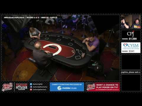 LIVESTREAM | Cate Hall vs Mike Dentale Grudge Match | Part 2 of 2 | SugarHouse Casino