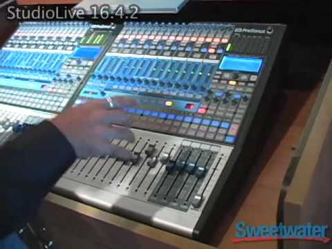 PreSonus Studio Live 1642 Added Features  Sweetwater