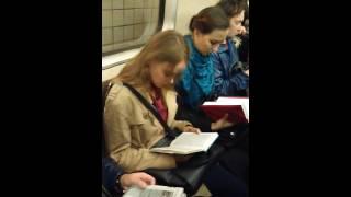 Утренняя медитация в метро...