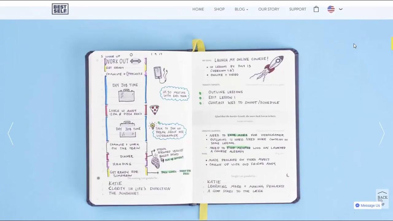 Amazon.com : SELF Journal by BestSelf — Undated 13-Week ...