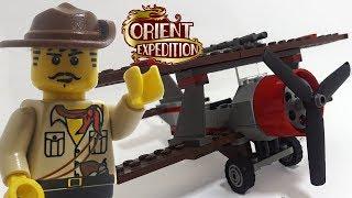 LEGO Orient Expedition Thunder Blazer review! 2003 set 7420!
