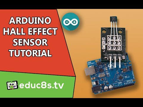 Arduino Tutorial Hall Effect Sensor from Banggood and Arduino
