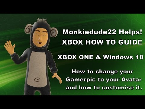 How to use your Avatar as a Gamerpic on Xbox One & Windows 10