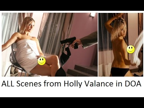 ALL Sexy Scenes from Holly Valance in DOA - Dead or Alive