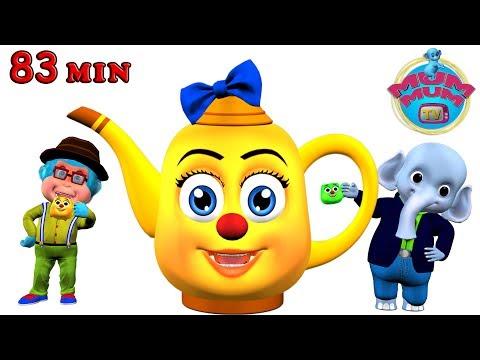 I'm a Little Teapot Song with Lyrics & more Popular Nursery Rhymes for Kids | Mum Mum TV