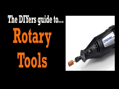 DREMEL TOOLS! Rotary/Dremel Tool Uses? Dremel Tool Attachments? - DIY TOOLS #6