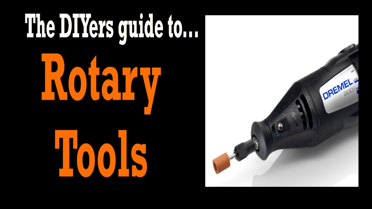 Rotary Dremel Tool Uses Attachments