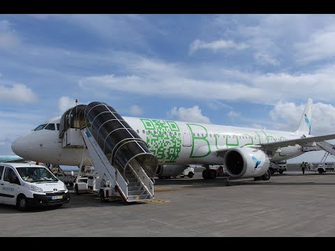 Azores Airlines Airbus A321neo from Lisbon to Ponta Delgada - Full Flight