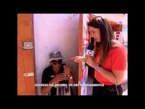 Backstage Telenovela Los Diez Mandamientos Grabaciones en Chile