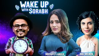 MAYANTI LANGER & Anu Menon | Cricket Premis #19 | Rishab Pant Is Greatest | Wake Up With Sorabh |