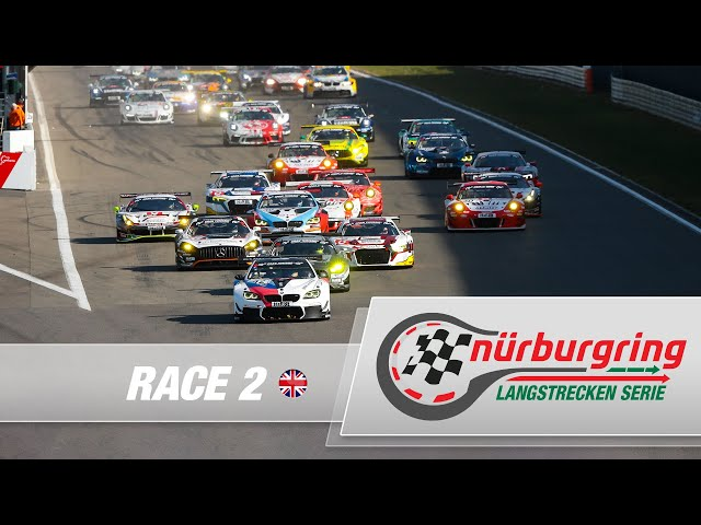 LIVE: Race 2 Nürburgring Endurance Series (NLS) 2021