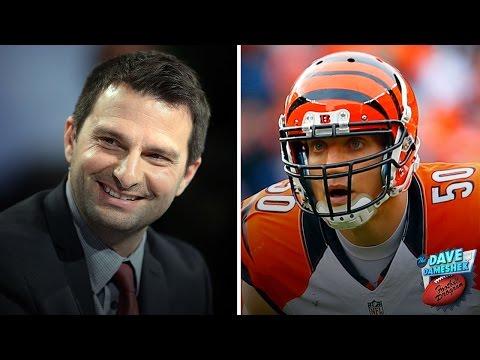 What happens when a Steelers fan interviews AJ Hawk? | Dave Dameshek Football Program | NFL