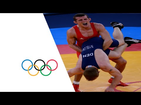 Wrestling Mens GR 55 kg Bronze Finals Hungary v Denmark - Full Replay | London 2012 Olympics