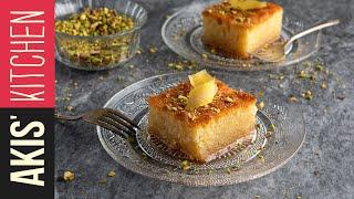 sweet semolina cake ravani akis kitchen