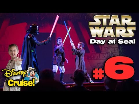 STAR WARS DAY AT SEA!!! 4K Disney Cruise Adventure on the Disney Fantasy! PART 6