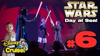 STAR WARS DAY AT SEA!!! 4K Disney Cruise Adventure on the Disney Fantasy! PART 6