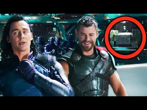 THOR RAGNAROK Breakdown - EVERYTHING YOU MISSED! (Easter Eggs & References)