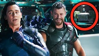 THOR RAGNAROK Breakdown - EVERYTHING YOU MISSED! (Easter Eggs & References) thumbnail