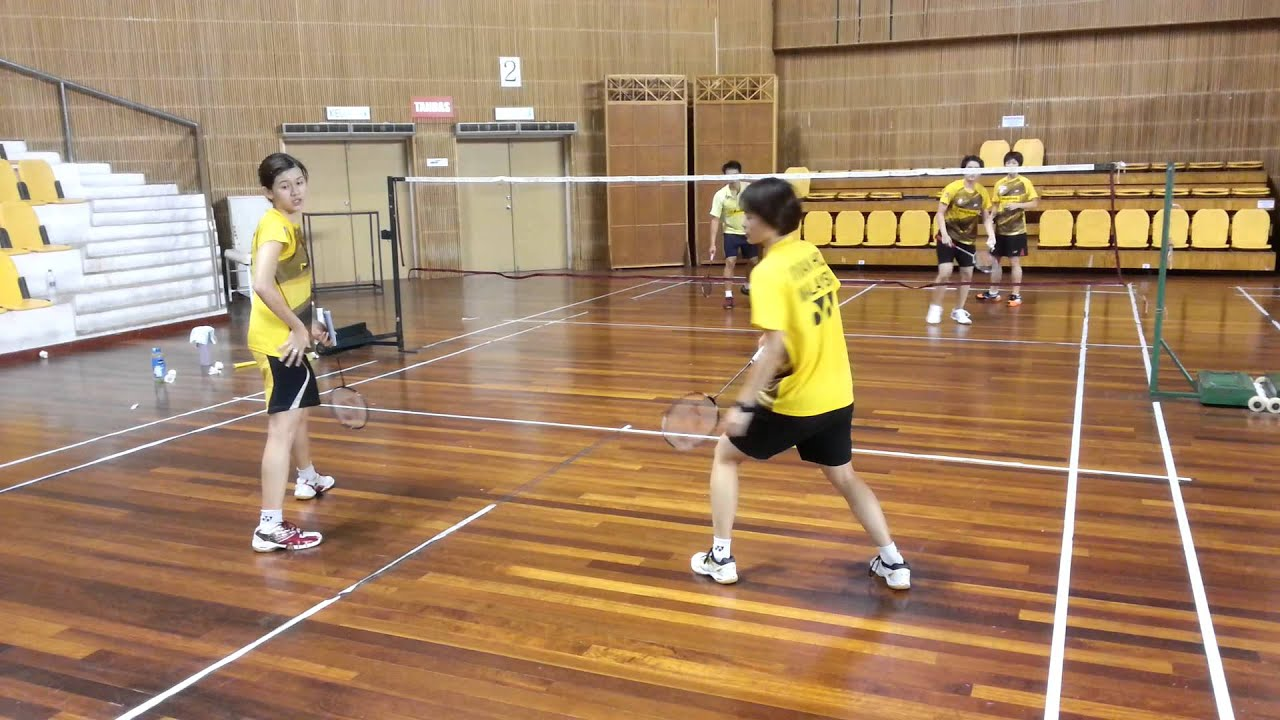 Malaysia badminton training - YouTube