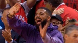 Drake waves goodbye to the Bucks | Raptors vs Bucks Game 3