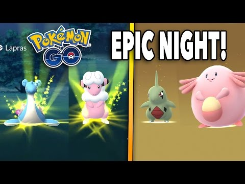 SHINY HUNT CONTINUES & EPIC 10 KM EGG HATCHES! Pokemon GO