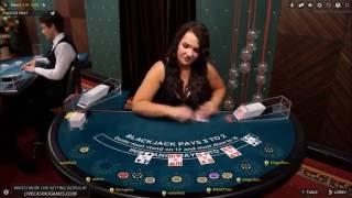 High Stakes Live Blackjack Betting