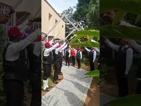 Download WOLE SOYINKA LEADS BURIAL PROCESSION OF A MEMBER OF PYRATES CONFRATERNITY