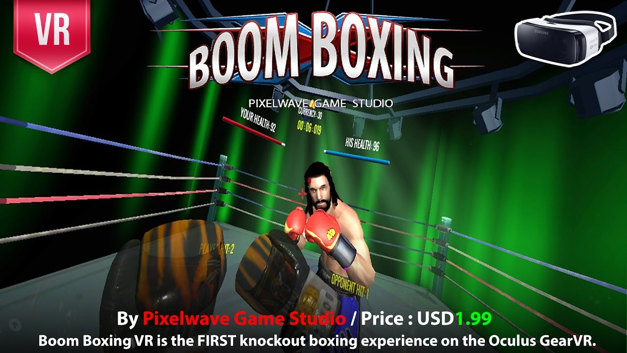 7907f280c9f2 Boom Boxing Gear VR the FIRST knockout boxing experience on the Oculus Gear  VR - YouTube