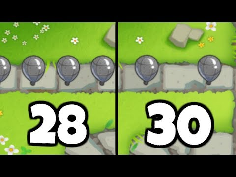 Is Round 30 ALWAYS Easier Than Round 28? (Bloons TD 6)
