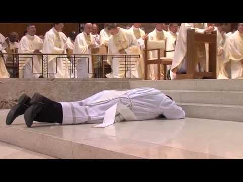 Fr. Adam Maus: 20 minutes before being ordained a Catholic priest