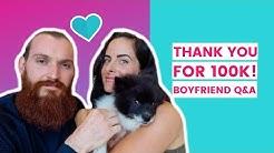 Thank You For 100K! | Meet My VIKING & New PUPPY (Boyfriend Tag Q&A)