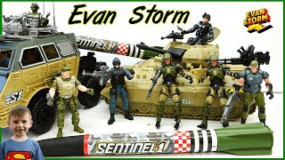 Army Action Figures Mystery Surprise Box Battle Tank, Hover Craft and Rocket launcher