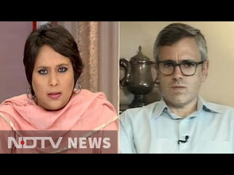'Burhan Wani more dangerous dead than alive': Omar on PM's Kashmir outreach