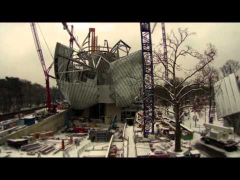 Time Lapse of the Fondation Louis Vuitton