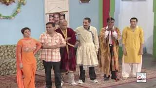 ZAFRI KHAN TE SAIMA KHAN DE KHON DA GROUP IK AE - PAKISTANI STAGE DRAMA FULL COMEDY CLIP